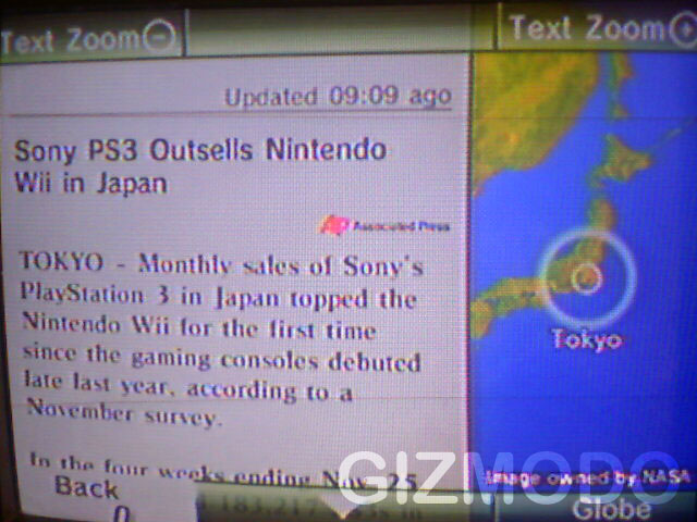 PS3 winner on Wii News Channel • GadgetyNews