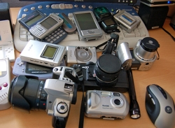 Image result for pile of gadgets