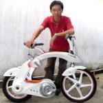 Capella Leightweight Folding Electric Bike