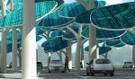 Solar Forest Brings Shade, Free Electricty and Sci-Fi Trees to Car Parks