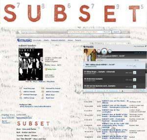 Subset Myspace
