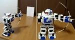 Tiny i-Sobot Unleashes Weapons on Tanks, Dinosaurs and Random Toys