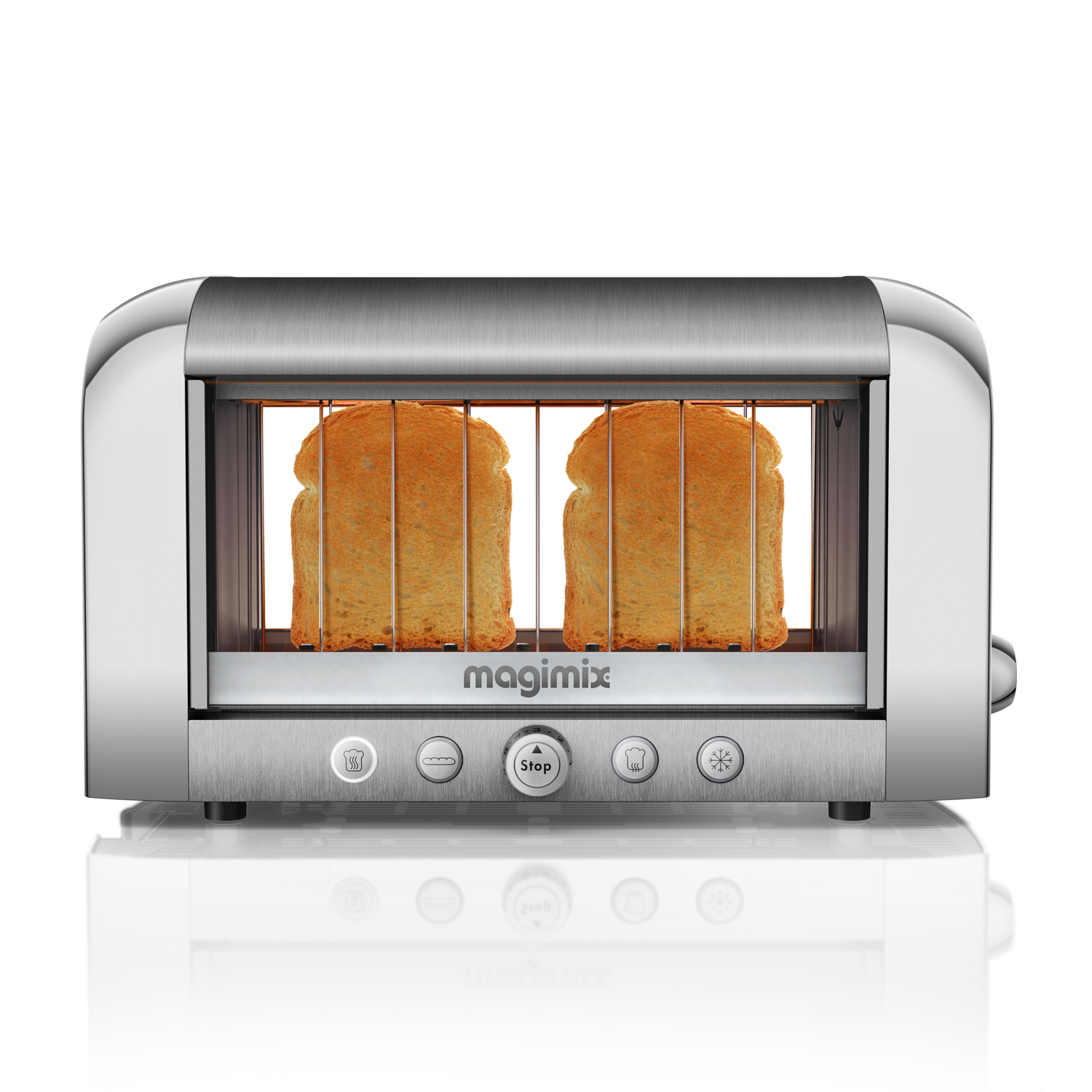 magimix vision see through toaster watch your bread burn. Black Bedroom Furniture Sets. Home Design Ideas