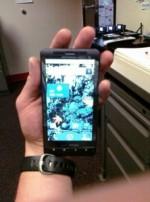 Motorola Droid Shadow Found in Local Gym