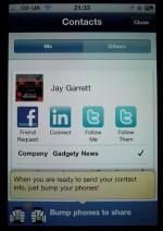Bump 2.0 Now Enables Instant Facebook, Twitter and LinkedIn Befriending