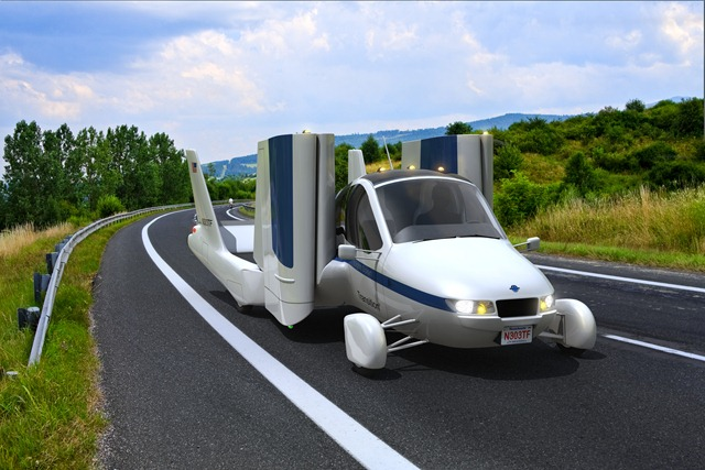 New, Safer Terrafugia Transition Gets New Look – Latest Flying Car