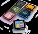 iPod Nano 6 Gets Touchy – Still Cute