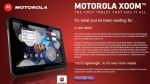 Motorola XOOM 3G UK Price Outed by Carphone Warehouse
