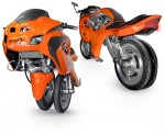 Uno III Streetbike – From Electric Unicycle to Motorcyle as you Ride
