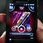 Facebook inside Xperia Music