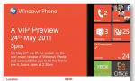 Windows Phone 7.5 Mango Dropping on May 24