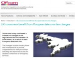 Ofcom Ban 36 Month Contracts and Make Keeping your Number Easier