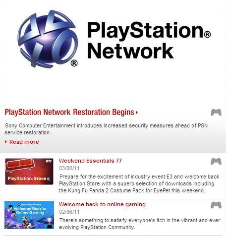 Sony PlayStation Network Live Now - Sony Hacked and User