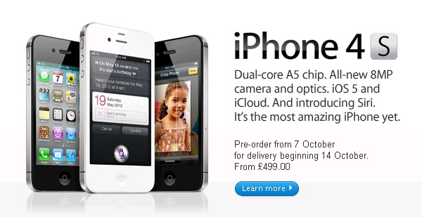 iphone 4s release date iphone 4s uk price and release date confirmed gadgetynews 14445