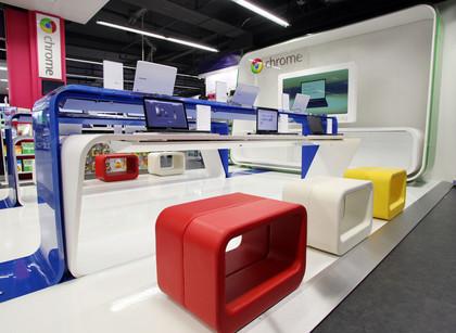 First Google Chrome Zone Store - Tottenham Court Road