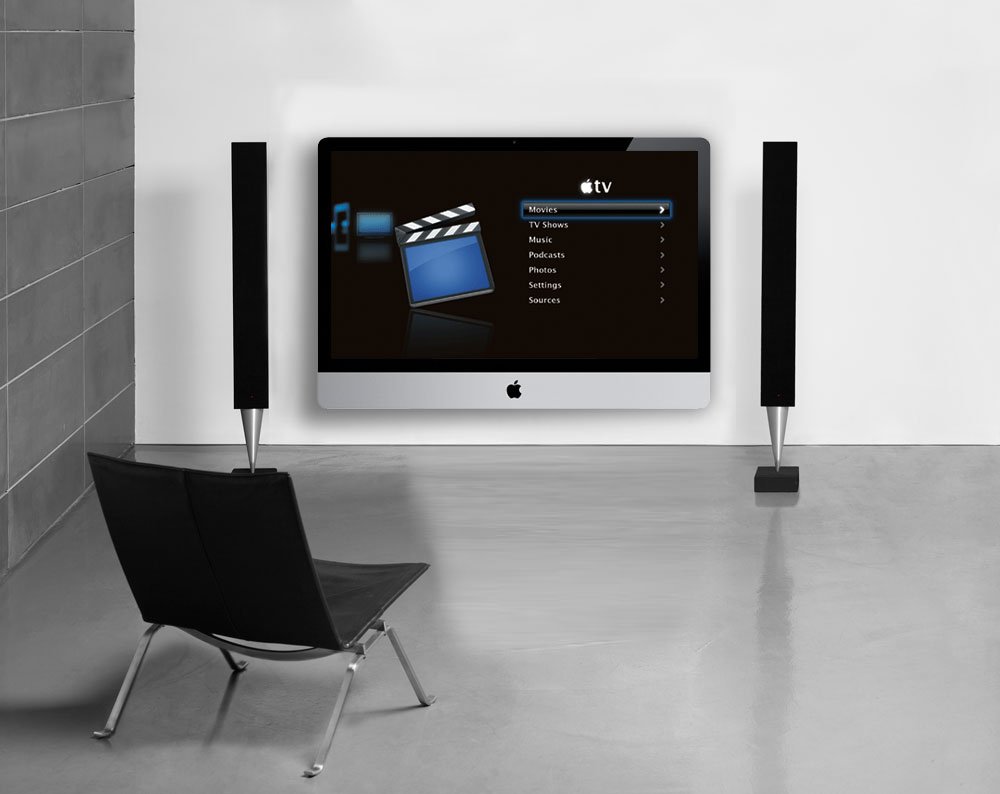 Apple tv Settings Screen But as The Apple tv Set