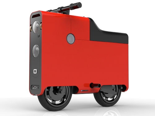 Commute On A Boxx The Suitcase Shaped Electric Bike Gadgetynews