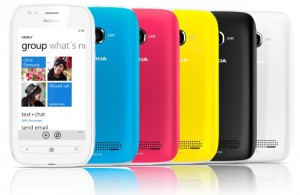 Nokia Lumia 710 Colours