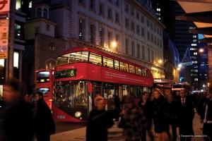 New TfL Routemaster Broadgate London