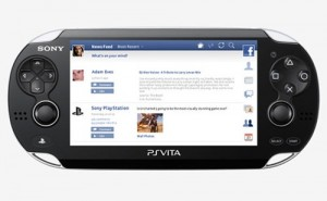 Playstation Vita Facebook App UK