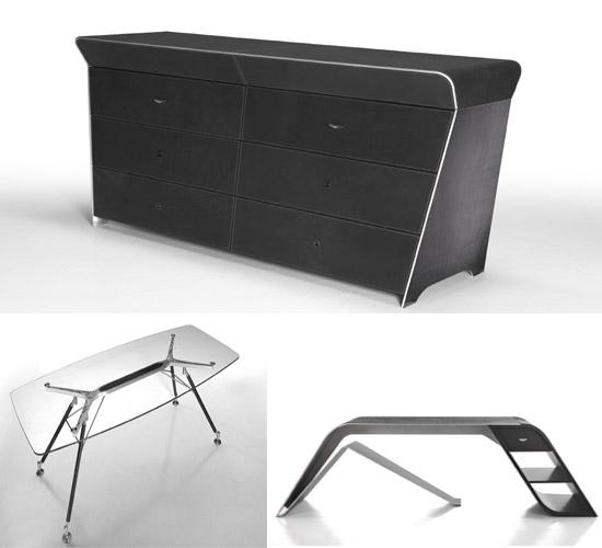 Aston martin furniture collection desks gadgetynews - Martin home office furniture ...