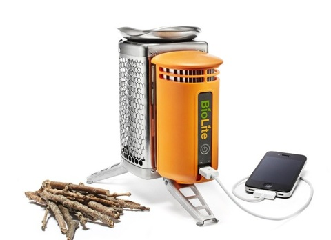BioLite CampStove – Keeps you Warm and Recharges your Gadgets