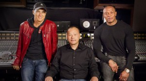 Jimmy Iovine Dr Dre and Peter Chou