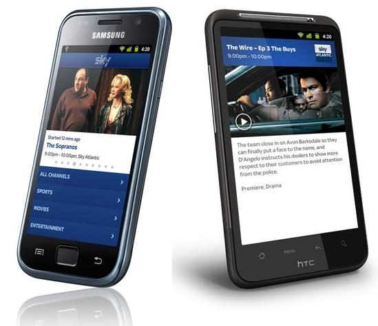Sky Go Streamen Android