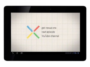 Google Nexus tablet 7in