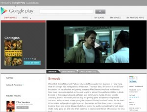 Google Play Movies UK