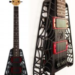 Black Spider 3D Printed Guitar