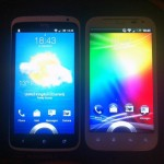 HTC Sensation XL and HTC One X