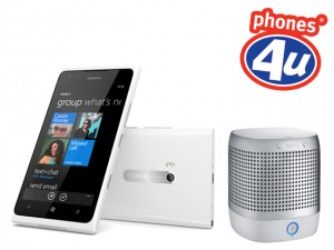 Phones4u White Nokia Lumia 900 360 play