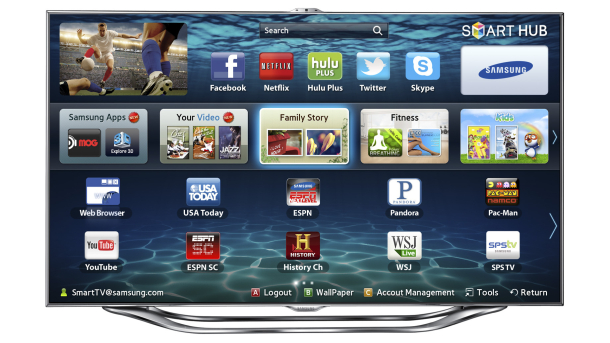 samsung es8000 smart tv apps gadgetynews. Black Bedroom Furniture Sets. Home Design Ideas