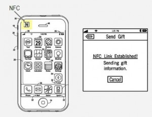 iPhone 5 NFC Apple patent