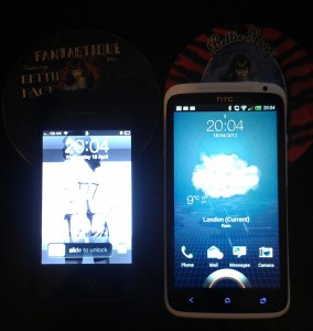 iphone 4 htc one x lock screens