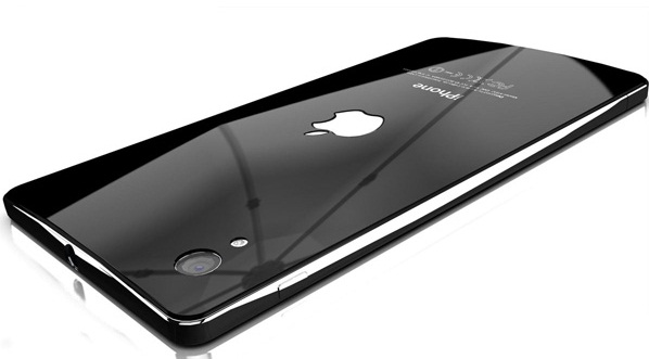 iphone 5 liquid metal concept back