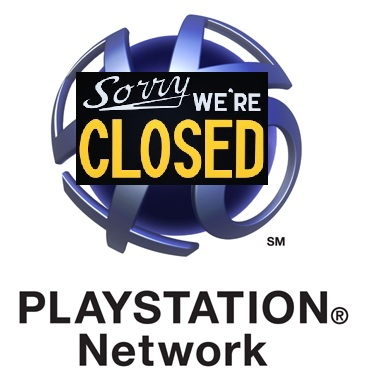 PlayStation Network Closed