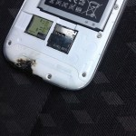 samsung galaxy s3 explodes bottom
