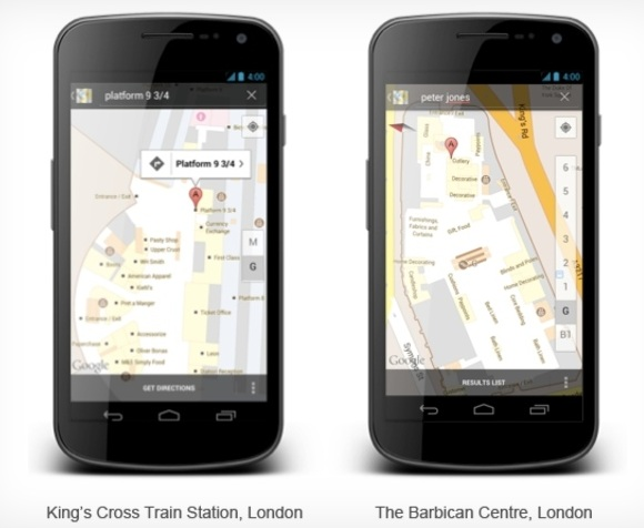 UK Google Indoor Maps Launched – Over 40 Locations Included in time for London 2012 Olympics