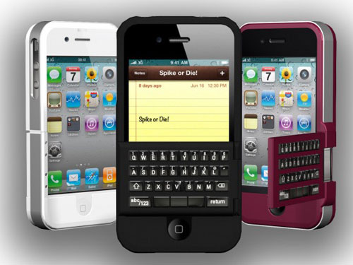 SoloMatrix Spike the iPhone with QWERTY Keyboard • GadgetyNews