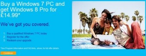 Windows 8 Upgrade UK price