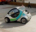 Hiriko folding electric car solves parking woes