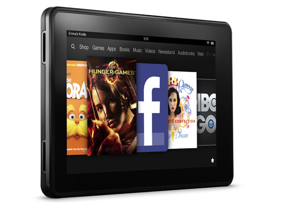 Amazon release Kindle Paperwhite and Kindle Fire HD range – UK Prices