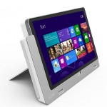 Acer Iconia W700P side view - October 2012