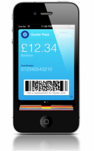 Oyster Passbook ios 6