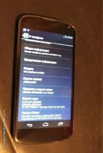 LG Google Nexus smartphone snapped with Jelly Bean