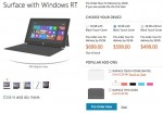 Microsoft Surface RT prices officially revealed