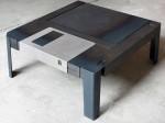 Floppy Table rocks it 3.5-inch old skool style