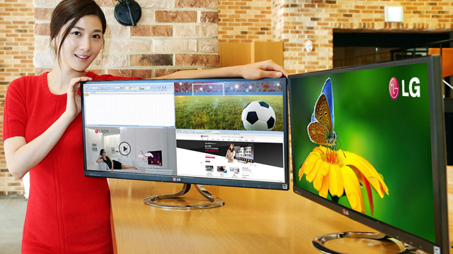 LG EA93 21:9 monitor does away with the need for four screens